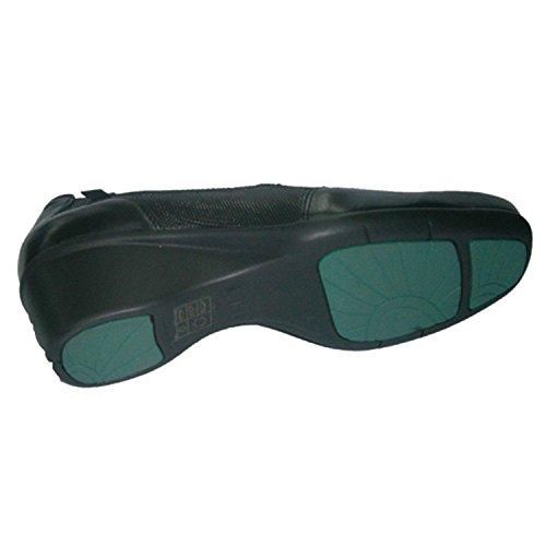 Antifatiga Spezialschuh mit herausnehmbarem Fußbett Pepe Varo schwarz Schwarz
