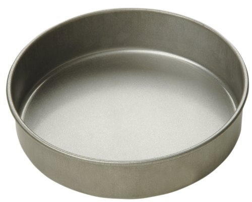 Focus Foodservice Commercial Bakeware 8 by 2-Inch Round Cake Pan by Focus Foodservice (Cake Pan 2in Round)