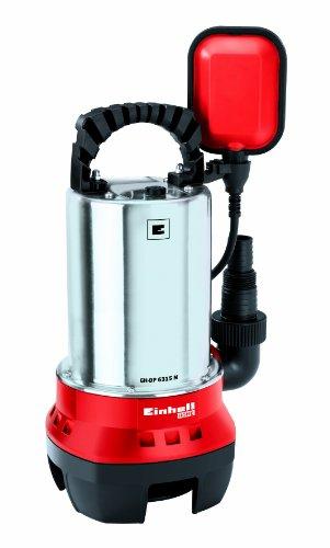 Schmutzwasserpumpe GH-DP 6315 N (630 W, max. 17000 l/h, max. Förderhöhe 8 m, Fremdkörper bis 15 mm, Edelstahl-Pumpengehäuse)