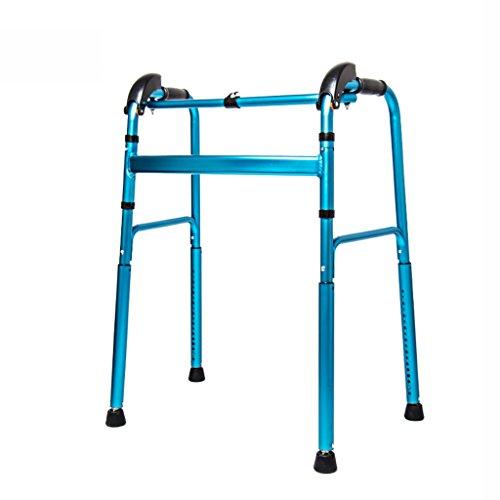 Zfggd Walker desactivado Rollerator Marco de pie de pie de Edad Avanzada