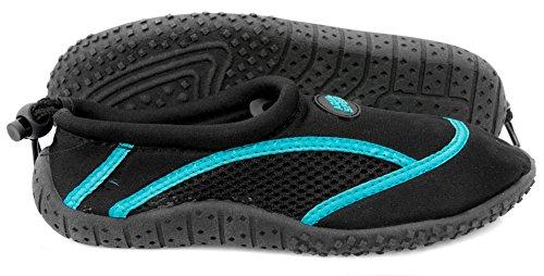 AQUA-SPEED Chaussures aquatiques 3 Noir - Noir/bleu