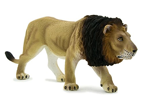 MGM - 387004 - Figurine Animal - Lion Grand Modèle - 6 X 15 Cm
