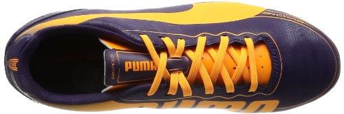 Puma evoSPEED 5.2 FG Jr, Scarpe da calcio unisex bambino viola (Violett (blackberry cordial-fluo orange-fluo pink 02))