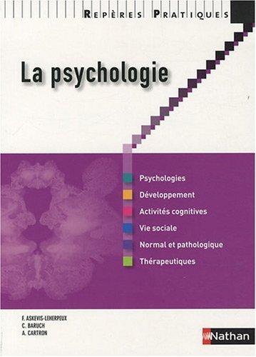 La Psychologie - Repres Pratiques