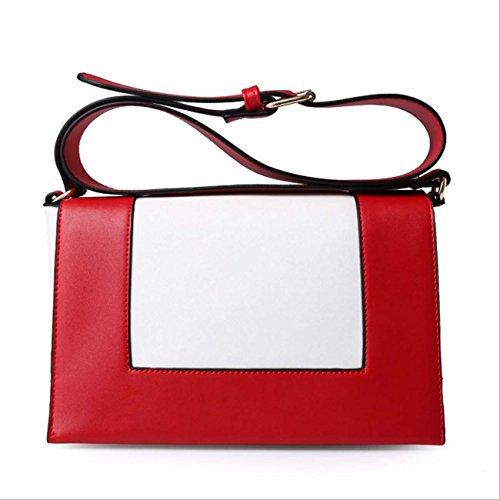 Sacchetto del messaggero della spalla di modo di disegno semplice semplice del bicchierino della borsa delle signore Materiale dell'unità elaborazione Red