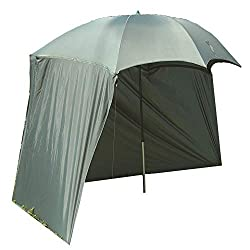 Zebco Erwachsene Schirme Angelschirm 2.20m Camou Mehrfarbig