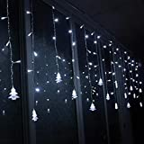 Best General Electric Christmas Trees - Gaddrt 3.5M Christmas LED String Curtain Lights Tree Review
