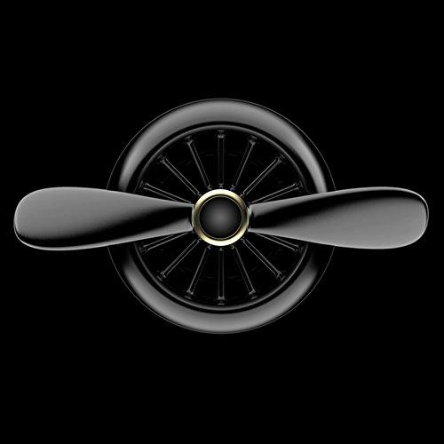 Auto-Diffusore-Aircraft-creativo-Elica-Air-Force-II-1617-EU-Deodorante-Aromaterapia-Naturale-Depuratore-di-olio-essenziale-con-Clip-2PCS