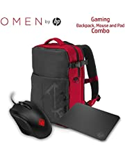 HP Gaming OMEN 400 Mouse Armored Backpack and Mousepad Comb