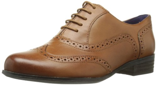 Clarks Hamble Oak, Damen Derby Schnürhalbschuhe, Braun (Dark Tan Lea), 37.5 EU (4.5 Damen UK) (Jane Leder Mary Tan)
