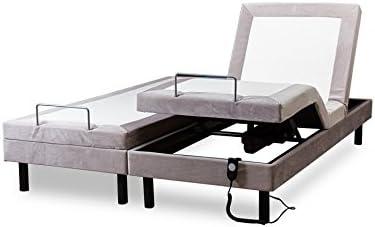 Conforeva Novaflex - Cama eléctrica articulada, 80 x 200 cm, color gris