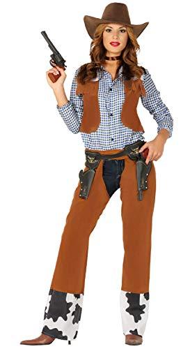 Ladies Wild West Western Cowgirl Cowboys & Indians TV Book Film Fancy Dress Costume Outfit UK 10-16 (UK 14-16) (Wild West Fancy Dress Kostüme Uk)