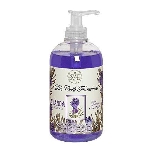 Nesti Dante Liquid Soap Colli Fiorentini Tuscan Lavender, 1er Pack (1 x 500 ml)