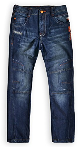 Generic Boys Full Length Denim Jeans Blue 10-11 Years