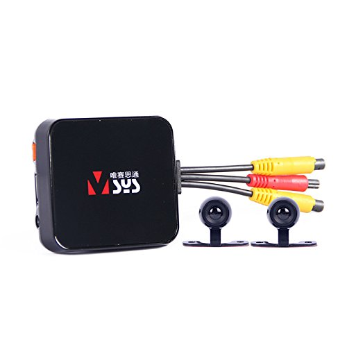 ZHENWOFC Videocamera C6L Cam Cam DVR Recorder con doppia lente nera impermeabile Accessori per utensili fai-da-t