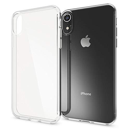 NALIA Hülle kompatibel mit iPhone XR, Soft Ultra-Slim Silikon Case Cover Crystal Clear Handyhülle Schutzhülle Dünn Durchsichtig, Etui Handy-Tasche Backcover Transparent, Schutz Bumper