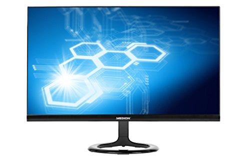 MEDION AKOYA P55491 MD 20491 59,8 cm (23,6 Zoll Full HD) Widescreen Monitor (1920 x 1080 Pixel, 16:9, HDMI, 2 integrierte Lautsprecher) schwarz