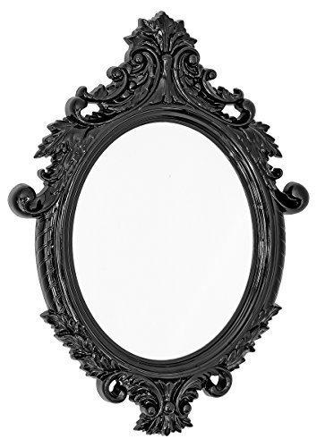 Nuevo-Vittoria-espejo-de-pared-en-color-negro-acabado-brillante