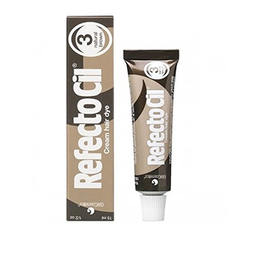 REFECTOCIL Cream Hair Tint Brown .5 oz by RefectoCil