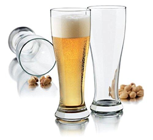 Libbey Craft Pilsner gebraut 473ml klar Pilsner Glas Set, 4-tlg. (Pilsner Libbey)