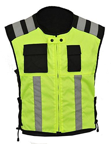 HI Sichtbarkeit Weste Motorrad oder Arbeitssicherheit trägt GearX, M