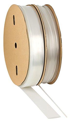 ISO-PROFI® 2:1Gaine thermorétractable Sélectionen 10tailles et 6longueurs Mètre transparent (here: Ø15mm - 1 meter)