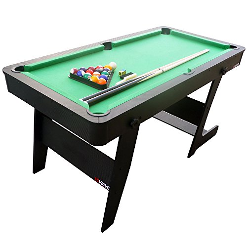 Viavito PT100X Unisex Folding Pool Table GreenBlack 5