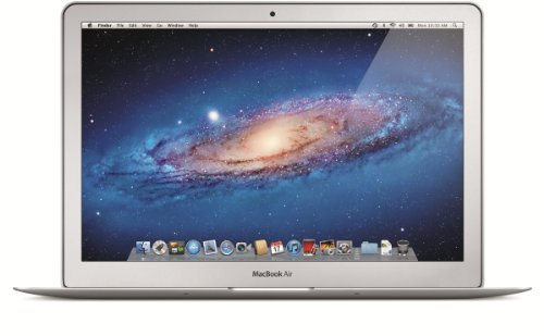 Apple MacBook Air Ordinateur portable 13' (33 cm) Intel Dual-Core i5 Stockage flash 128 Go RAM 4096 Mo OS X Lion