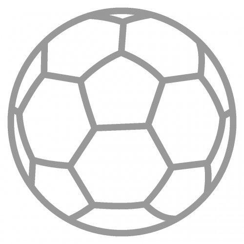 plot4u Autoaufkleber Handball Aufkleber in 9 Größen und 25 Farben (4x4cm grau)