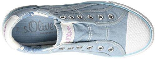 s.Oliver Jungen 53211 Low-Top Blau (LT BLUE 810)