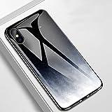 OCHENG Coque iPhone XS Max pour Téléphone Portable Coque iPhone XS Max Anti-Goutte Silicone Côté Doux Personnalité Couverture de Protection (Couleur : Night Sky)
