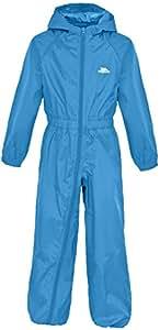 Trespass Boys Button All in 1 Rainsuit Cobalt 2-3