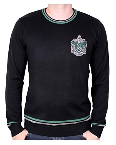 (Harry Potter Slytherin Pullover für Erwachsene Harry Potter & Draco Malfoy Fans L)