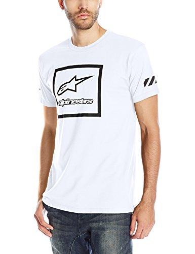 Alpinestars Herren Men's T-Shirt T-Shirt Grande Tee weiß