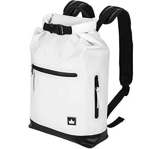 Trocken Rucksack Tasche Pack Raft Verstellbar Zipper Wasserfest Groß Kanu Bootsport