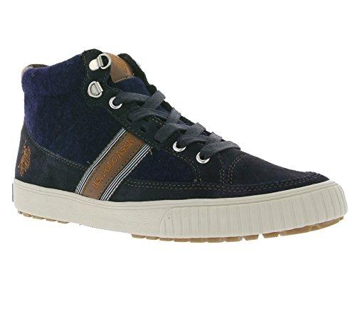 U.S. POLO ASSN. Martin Uomini Sneaker blu COMET4182W5 / SW1, Size:43