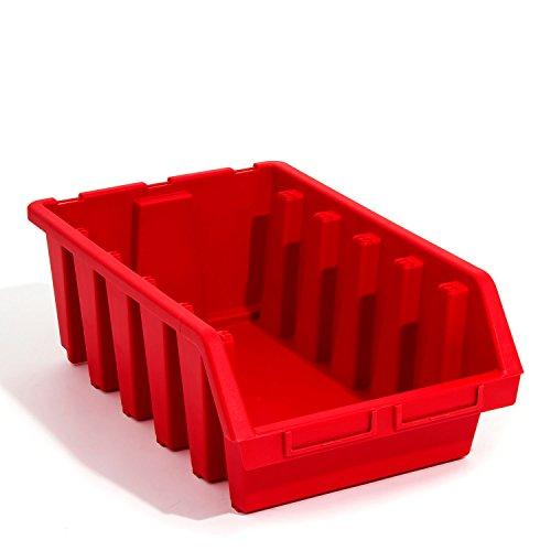 Boîte ergo bac a bec dimension 5 rouge atelier vis clou 500 x 333 x 187