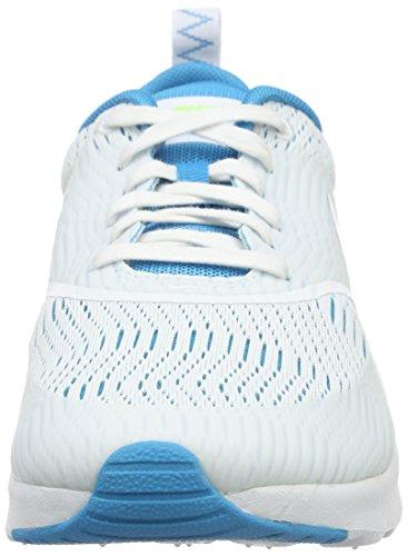 Nike - W Air Max Thea Em, Scarpe sportive Donna Bianco (White/White-Bl Lagoon-Ghst GrnWhite/White-Bl Lagoon-Ghst Grn)