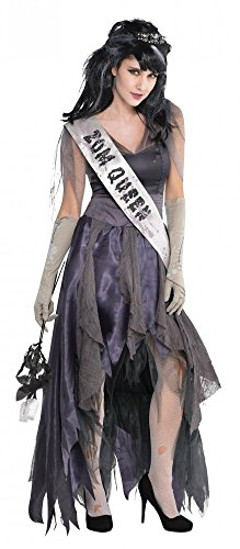 shoperama Homecoming Corpse Zombie Ball-Königin Prom Queen Damen Kostüm Abschlussball, ()