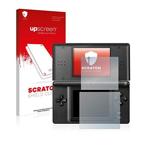 upscreen Schutzfolie kompatibel mit Nintendo DS LITE - Kristallklar, Kratzschutz, Anti-Fingerprint