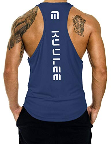 KUULEE Hommes Musculation Débardeur Bodybuilding...
