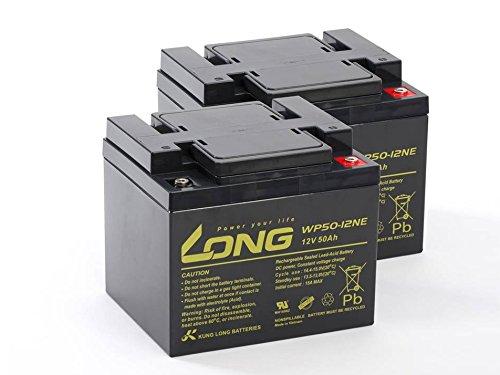 Akku Batterie Rollstuhl Elektromobil Orthopedia Compact 920 N 40 2 x 12V 50Ah wie 45Ah Blei