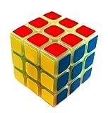 MeiCube Original! 3x3x3 Zauberwürfel für Speedcuber. Speedcube leuchtet im Dunklen! Leuchtender Zauberwürfel. Der Magic Cube/Würfel verbessert das Gedächtnis und die Geschicklichkeit beim cuben.