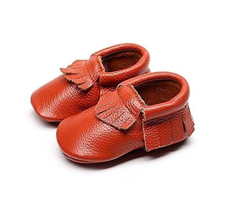 Little lucky baby Lace Up, Gladiator bébé fille - orange - Orange,