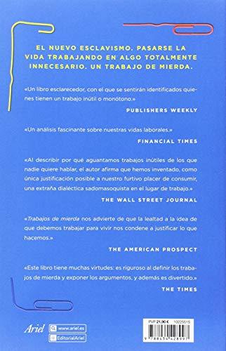 Resumen del libro de David Graeber TRABAJOS DE MIERDA. UNA TEORÍA