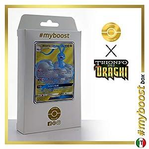 Altaria-GX 68/70 Full Art - #myboost X Sole E Luna 7.5 Trionfo dei Draghi - Box de 10 Cartas Pokémon Italiano