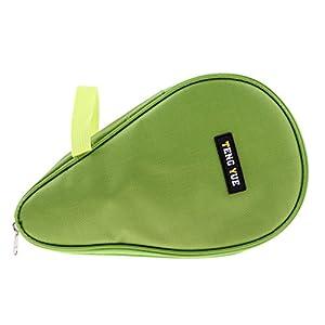 Homyl Schlägerhülle Tischtennisschläger Hülle Tasche Cover mit Ballfach