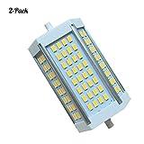 YUN Light Bulb@ LED R7S 118mm Lampe 30W,J118 Lineare Leuchtmittel 7000K, 30 Watt, entspricht 150W Halogenlampe, 85-265V AC, 3000LM, 200 Grad, 2er Pack
