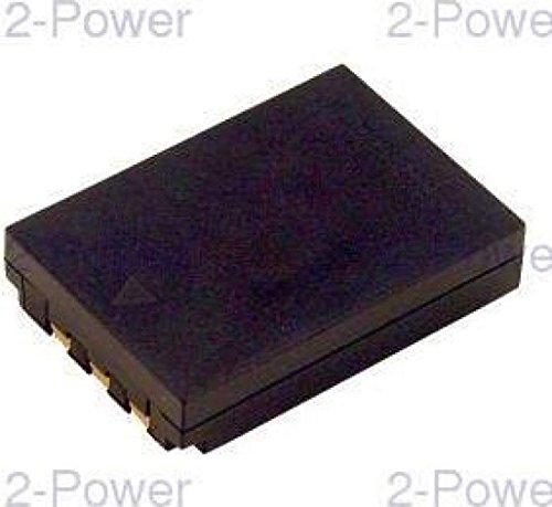 2-Power 1090mAh Li-Ion (3,7V) Kamera Ersetzt Akku für LI-10B