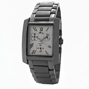 Reloj Lotus Acero Con Army Caballero Ref:15256/1